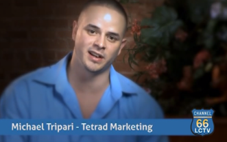 Michael Tripari – Tetrad Marketing Lancaster PA Testimonial (LCTV 66)